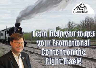 Get your Promotional Content of the right track