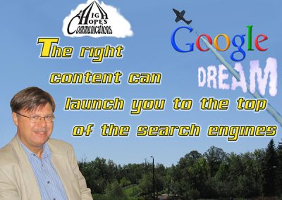 Launch to the top of the search engines