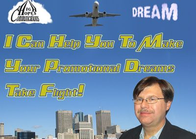 Make Your Promotional Dreams Take Flight - High Hopes Communications mini