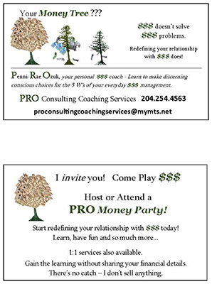 PRO Business Card - Money Tree mini