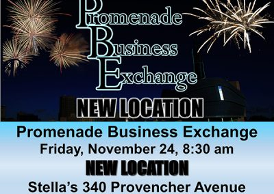 Promenade Business Exchange Nov 24 New Location web