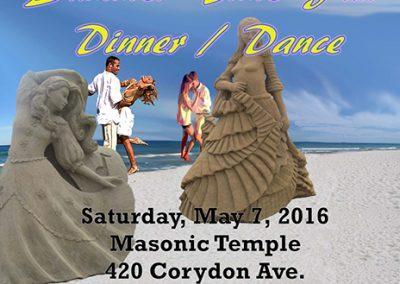Summer Time Fun Dinner Dance Poster