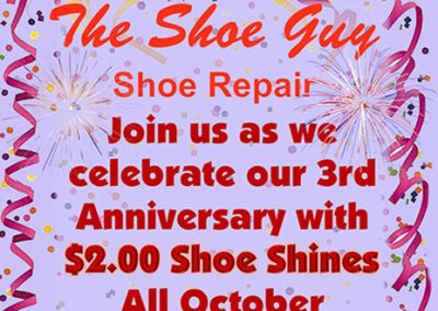 The Shoe Guy 3rd Anniversary Special Image