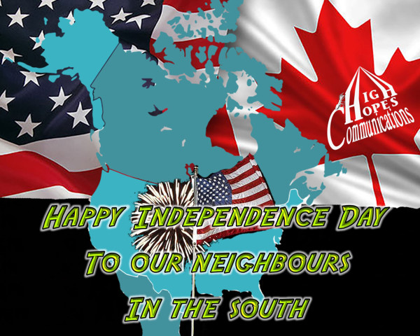 Happy Independence Day to our Neighbours in the South