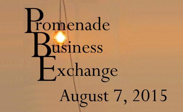 Promenade Business Exchange, August 7, 2015