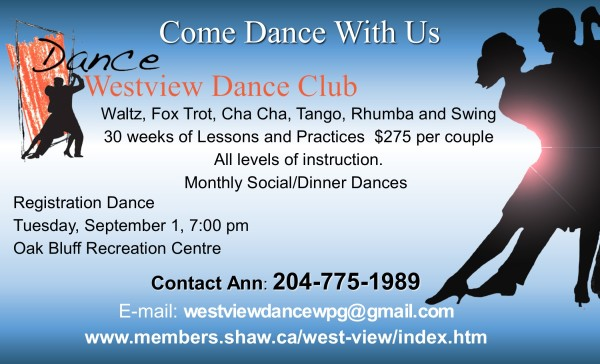 Come Dance With Us!   Dance Season begins again this September.