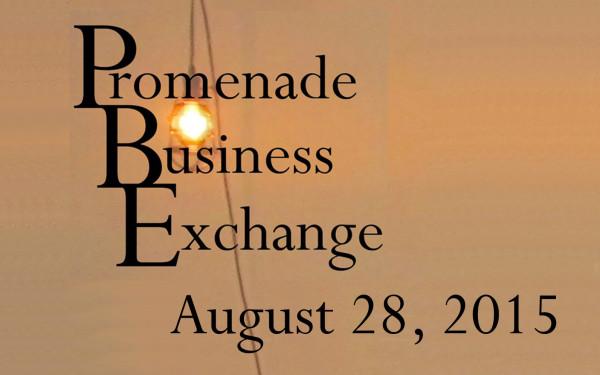 Promenade Business Exchange August 28, 2015