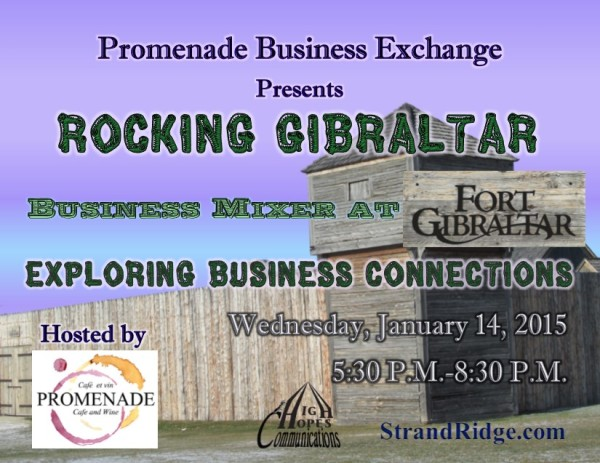 Rocking Gibraltar Business Mixer