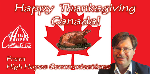 Happy Thanksgiving Canada!