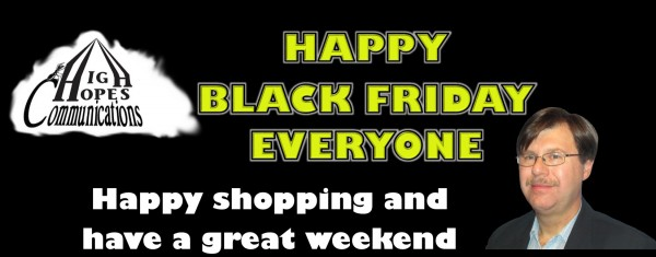 Happy Black Friday Everyone