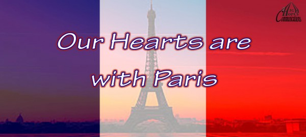 Our Hearts are with Paris