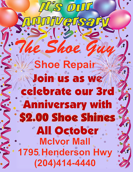 The Shoe Guy 3rd Anniversary Special