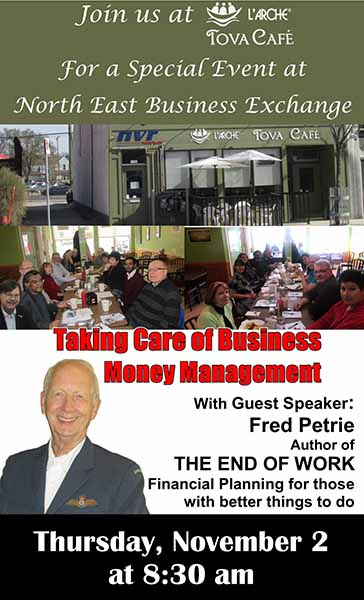 Special Event at the North East Business Exchange Nov 2, 2017 web