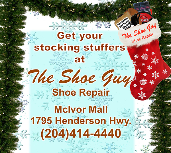 Get your stocking stuffers at The Shoe Guy Shoe Repair