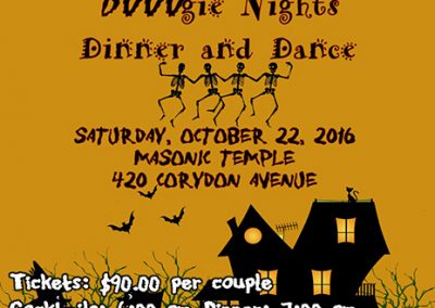 BOOOgie Nights Dance Poster mini