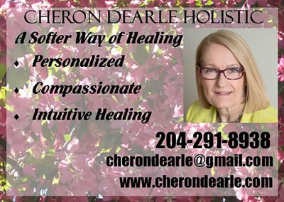 Cheron Dearle Holistic Linden Woods ad 2017