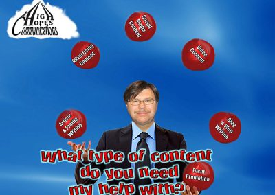 Content Creation Services - High Hopes Communications mini