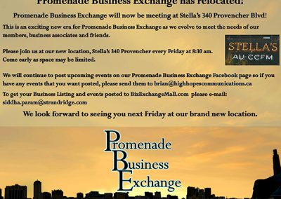 Promenade Business Exchange has relocated web