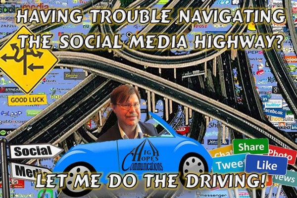 Having trouble navigating the social media highway? Let me do the driving