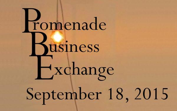 Promenade Business Exchange September 18, 2015