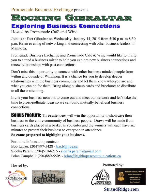 Microsoft Word - Promenade Business Exchange presents