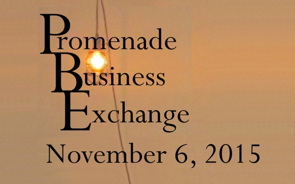 Promenade Business Exchange November 6, 2015