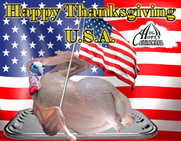 Happy Thanksgiving U.S.A.