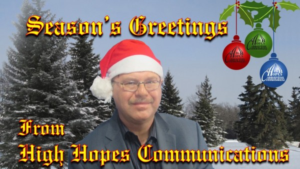 All the best of the season from High Hopes Communications