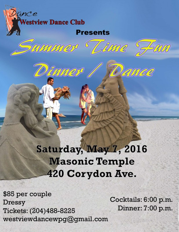 Westview Dance Club presents  Summer Time Fun Dinner and Dance