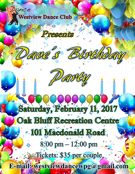Westview Dance Club Presents Dave's Birthday Party