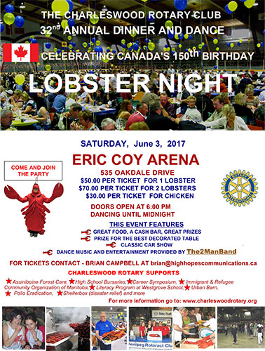 Charleswood Rotary Lobster Night