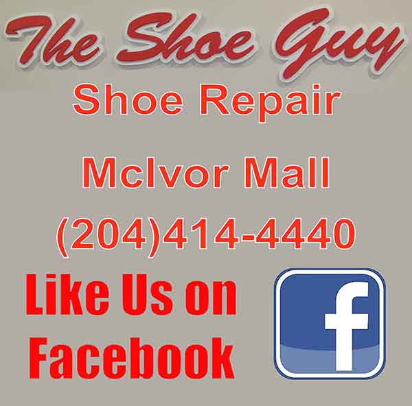 Like us on Facebook The Shoe Guy Shoe Repair
