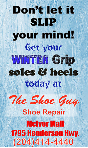 Get your Winter Grip soles and heels today