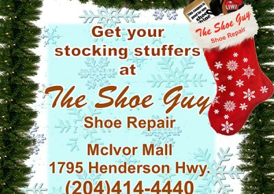 Get your stocking stuffers at The Shoe Guy Shoe Repair 2017 web