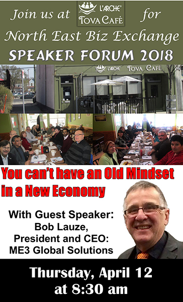 North East Biz Exchange Speaker Forum April 12, 2018