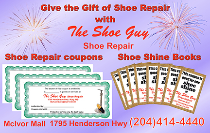 Give the gift of Shoe Repair
